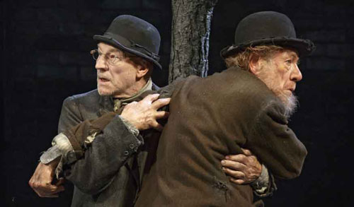 McKellan and Stewart waited for Godot, but he never came.
