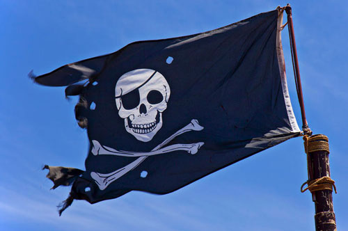 Aye, it be International Talk Like a Pirate Day.