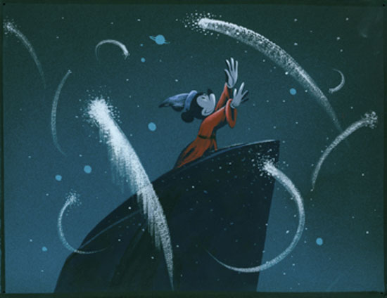 Walt Disney's animated musical film Fantasia was released at New York's Broadway Theatre on this day in 1940.