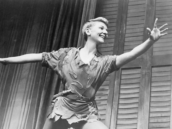 I can't tell you the joy I felt in flying in that show … I loved it so. The freedom of spirit that was Peter Pan was suddenly there for me. I discovered I was happier in the air than on the ground. As quoted in Mary Martin : Broadway Legend (2008) by Ronald L. Davis. p. 183 Actress and Singer Mary Martin was born on this day in 1913 (Died 1990).