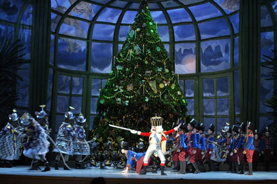 The Pennsylvania Ballet performs George Balanchine's The Nutcracker.  Credit: Photo by B. Krist for Visit Philadelphia™