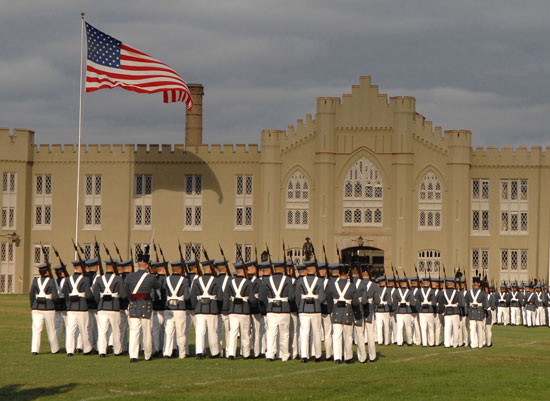 The Virginia Military Institute in Lexington, Virginia was founded on this day in 1839.