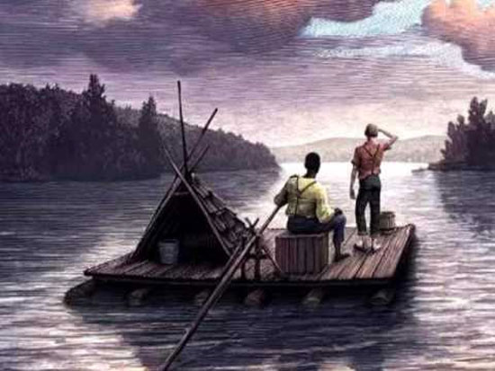 "Mark Twain's ""Adventures of Huckleberry Finn"" was published on this date in 1884"