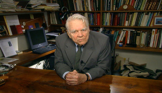 American Journalist Andy Rooney was born on this day in 1919 (died 2011)
