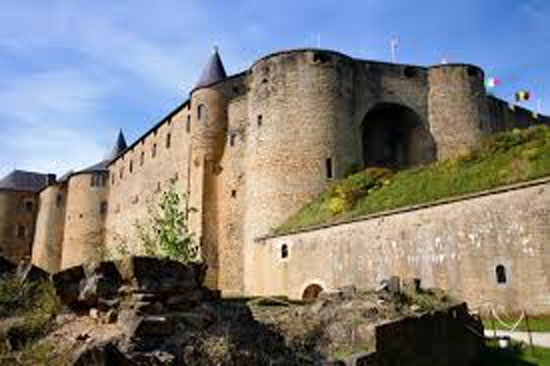 Chateau Fort de Sedan, France.  Apparently, I have ancestors who lived in this neighborhood.
