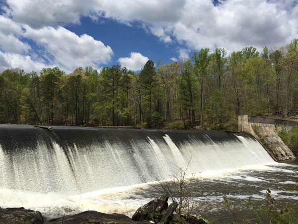 Swift Creek Dam, Pocahontas State Park, Chesterfield, Virginia