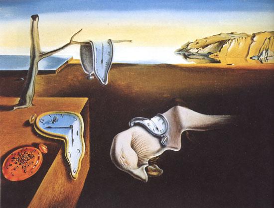 The Persistence of Memory Salvador Dali Museum of Modern Art, New York, USA