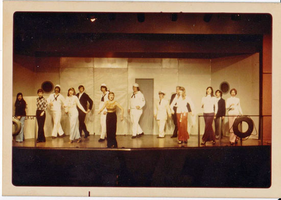 Anything Goes, Giles Little Theatre, 1975