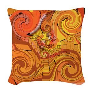 A Splash of Fall Woven Throw Pillow.  This design and more available in The Write Side Shop (click the pic).