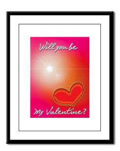 This Valentine print and more available at The Write Side Shop (click the pic).