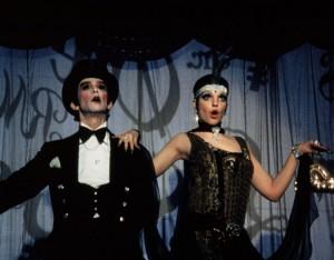 Joel Grey and Liza Minelli in Cabaret (1972)